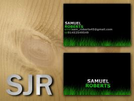 My business cards mock up by SJROBZY