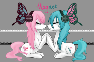 MLP/Vocaloid - Magnet by CindryTuna