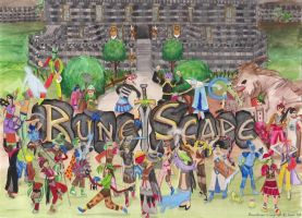 RuneScape Drawing by MsGhia