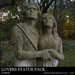 Lovers Statue Pack by sadistik-stock