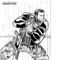 Sneaky Punisher Inked by triple--eight