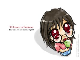 Welcome to summer by Mimoly