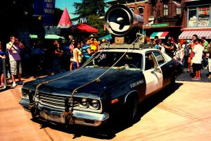 The Bluesmobile by The-Rock-Roth