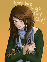 Why can't I hold all these tinies? by Biali