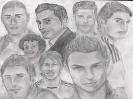 Galacticos of Real Madrid by Joouheika