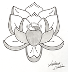 Simple Lotus Tattoo by xionkid