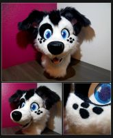 Pippin Fursuit Head by CowSprite