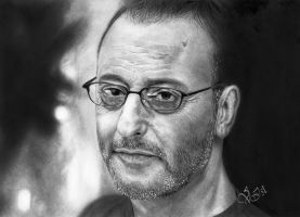 Jean Reno by V-Ist