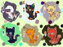 Point Adoptables #2 (OPEN 3/6) by Artistic-Winds
