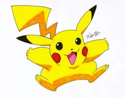Pikachu by MikeES