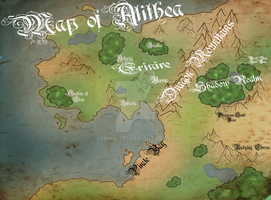 Alithean Map by AlinaKitti
