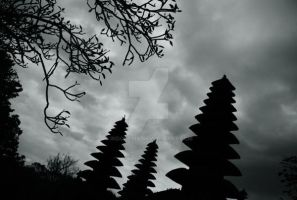 Balinese Pura by indonesia