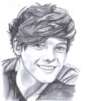 Louis From One Direction by Lu-Siobhan