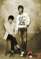 yunjae (stand beside you) by valicehime