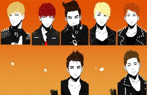 Super junior sexy free and single in progress by Angrypanda-Gin