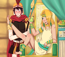 A Roman and the Pharaoh's Son by BaronBamboozle