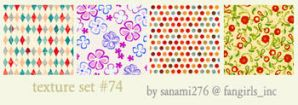 textures 74 by Sanami276