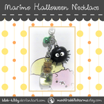 Halloween Marimo Necklace by ShinyCation