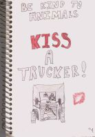 Kiss A Trucker by sgoheen06