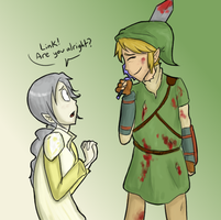 AT :Yvaine and Link: by Super-Cute