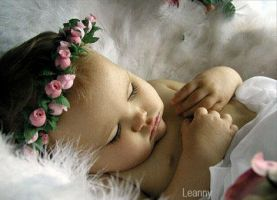 Baby Sleeping by Leanny