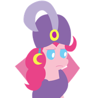 Madame Pinkie is not amused by Dragonfoorm