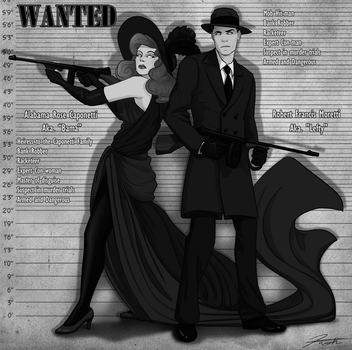 WANTED: Lefty and Bama by DJCoulz
