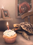Geers birthday tortoise by dashase