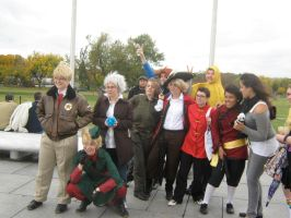 Hetalia Day DC Group Shot by Frostpebble