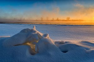 Winter Mist by MarshallLipp