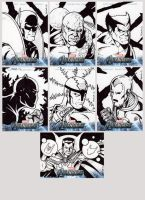 Avengers Assemble Sketch Cards 2 by tonyperna