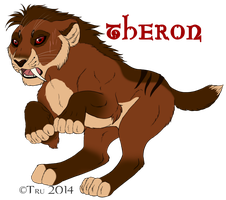 Theron the Hunter by EireannWolf