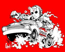 Jason Goes To Town brw version by MonsterInk