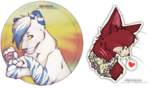 two headshots by orum-the-cat