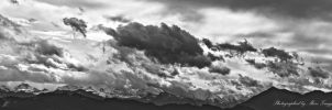 Cloud panorama of the Swiss Alps 1 by MarcZingg