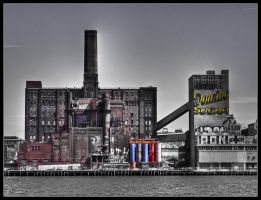 Domino Sugar Factory by Bestarns