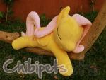 Sleeping Fluttershy by Chibi-pets