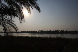 Sunset on the Nile by beckawalley