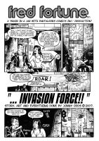 Fred Fortune- Invasion Force 1 by JonniO