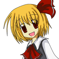 Rumia Coloured by mewarrow