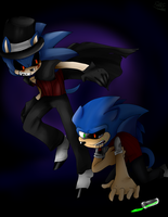 Dr.Sonic Mr. EXE by NeroFlare