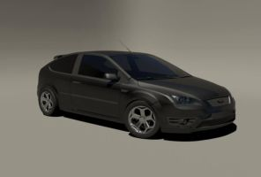 Focus ST 2008 black by CapraruConstantin