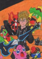 Pokemon-Team of Demyx by MadHatter-Himself