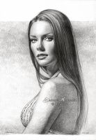 Taylor Cole drawing by dh6art