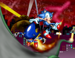 Stardust Struggle - Sonic CD Art Contest Entry by SRB2-Blade