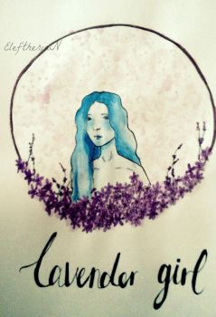 Lavender Girl by EleftheriaLiberation