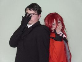 Grell and Will Cosplay by EmoHimeChan