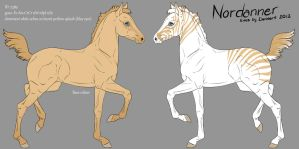 7389 Nordanner Foal Design by saphiraly
