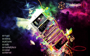 Zune HD by TheTuneOfTurbo