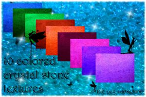 Crystal Stone Textures by Dracofemi